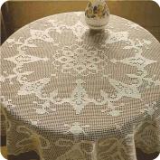 """Tapete redondo """"Las campanillas"""" a Crochet"""