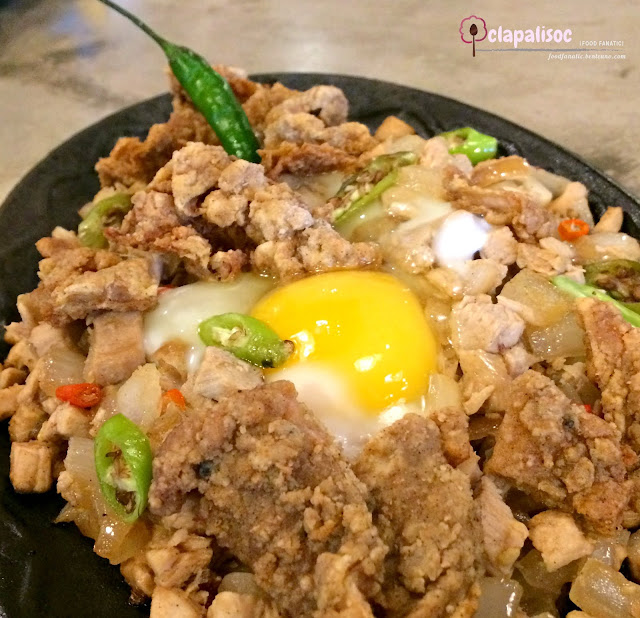 Crispy Chicken Sisig from Senor Pollo Alabang