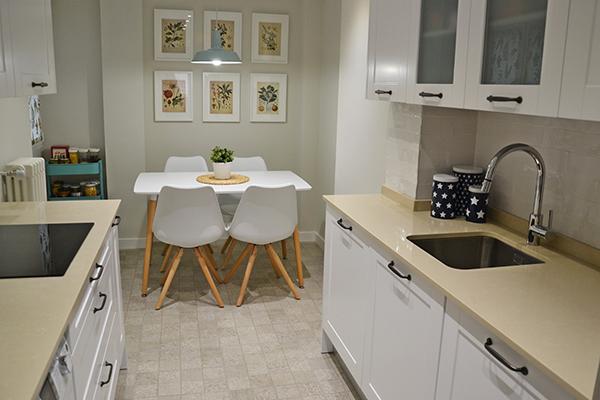 Una reforma excelente para el baño y la cocina
