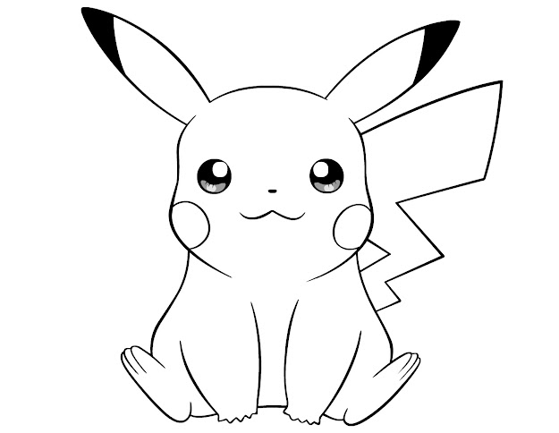 Trend Pokemon Pikachu Coloring Pages