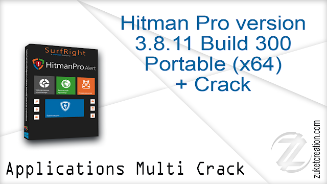 Hitman Pro version 3.8.11 Build 300 Portable (x64) + Crack