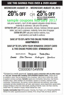 free Carson Pirie Scott coupons for february 2017