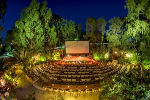 Cinema ao ar livre, Santorini
