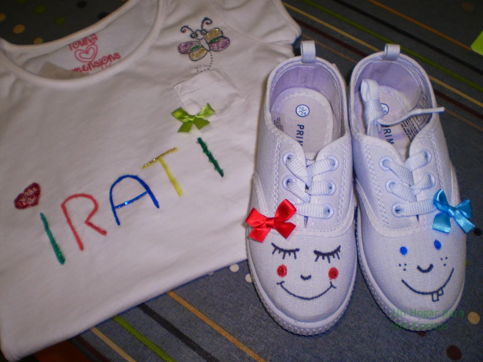 Un hogar para mis cositas diy camisetas pintadas - Pinturas para pintar camisetas ...
