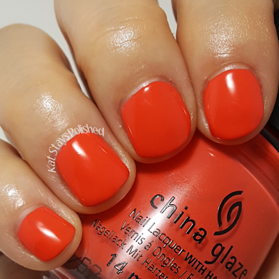China Glaze Seas and Greetings - Tis the Sea-Sun | Kat Stays Polished