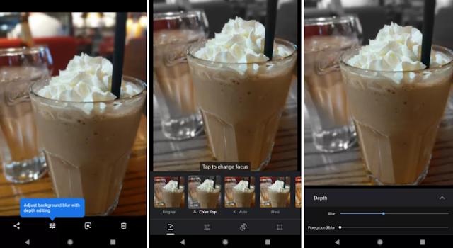تطبيق صور Google يختبر إضافة تأثيرات ألوان جديدة