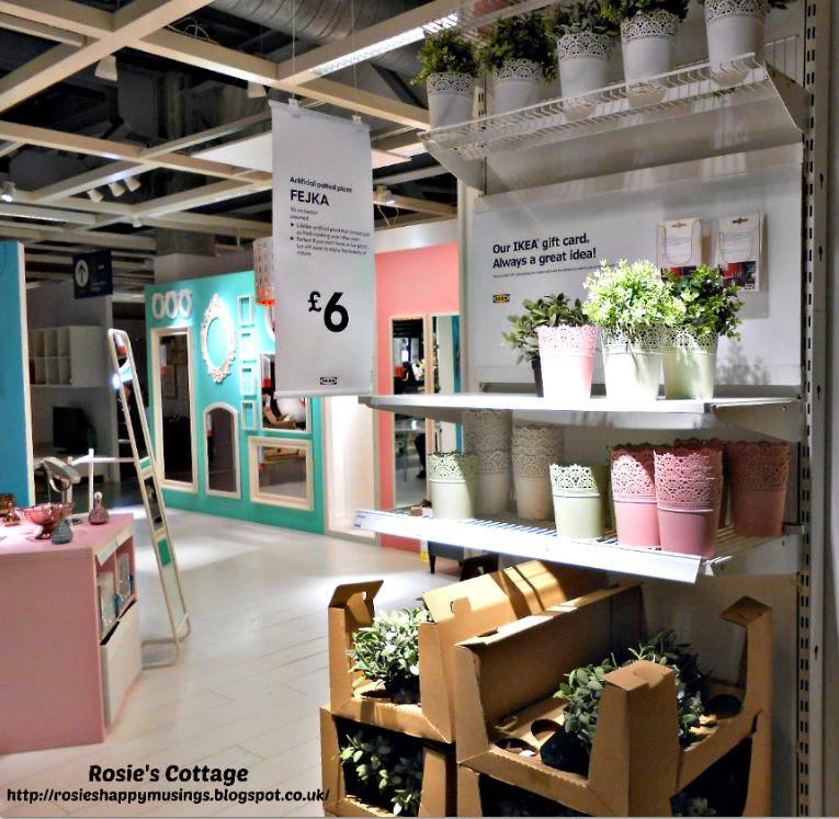 Ikea Pastel Planters