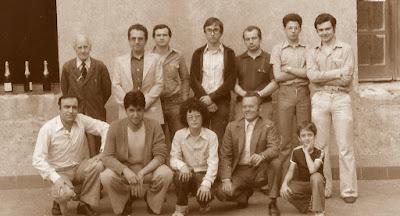 Equipo del C.C. Sant Andreu -Vencedor Copa Catalana 1ª Categoría de 1978
