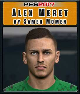 PES 2017 Faces Alex Meret by Sameh Momen