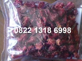 Khasiat teh bunga rosella merah untuk kesehatan obat diet kecantikan