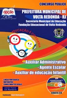 Apostila concurso Prefeitura de Volta Redonda