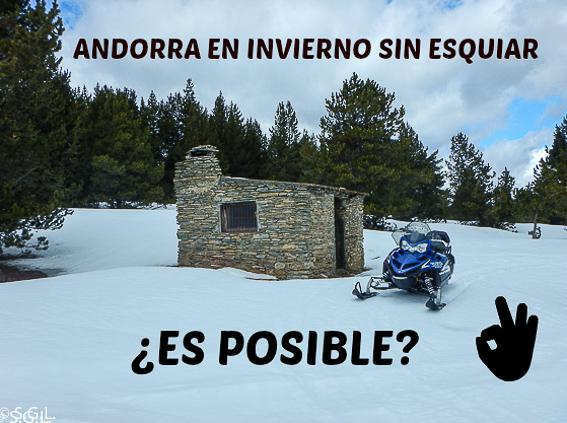 Andorra en invierno sin esquiar