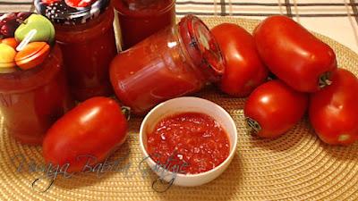 Przecier Pomidorowy na Zimę.  Passata Pomidorowa