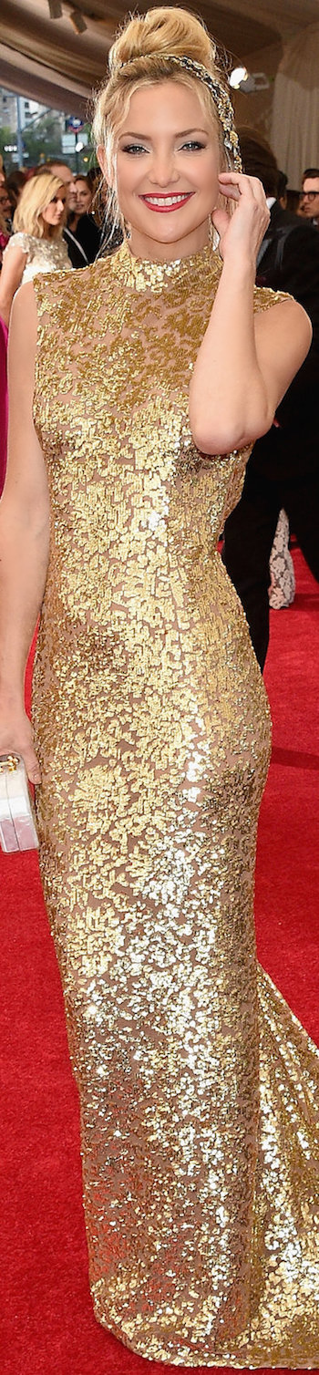 Kate Hudson in Michael Kors 2015 MET GALA