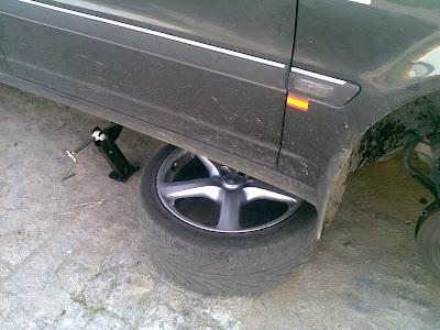 Levantar coche con seguridad