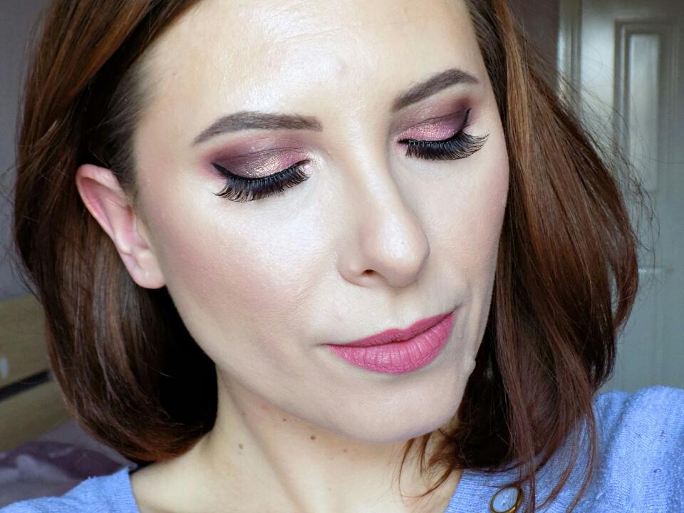 Too Faced Sweet Peach palette makeup look