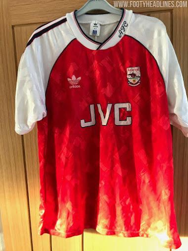 Class Adidas Arsenal 19 20 Home Kit Socks Inspired By 1991 Kit Footy Headlines