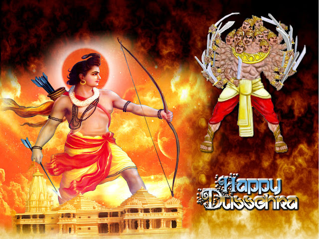 Happy Dussehra Pics for Facebook Whatsapp Timeline Cover