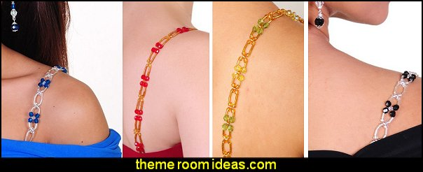 Removable Replacement Bra Straps - Decorative & Beaded