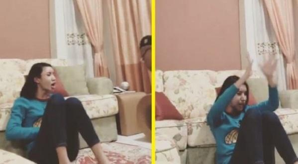 [Video] Selepas dirasuk, Safiey Illias muatnaik rakaman penampakan entiti ketika liveJom Tengok