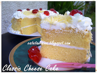 Resep Classic Cheese Cake Ricke