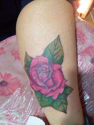 Rosa a color para dama