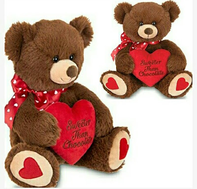 Bearington Valentines Teddy Bear for Your Loved One