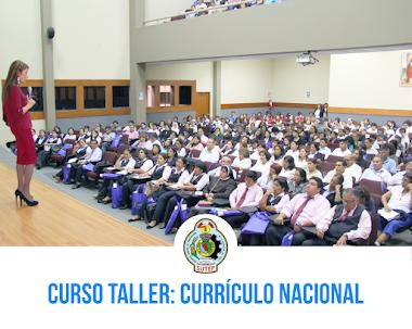 CURSO TALLER: CURRÍCULO NACIONAL