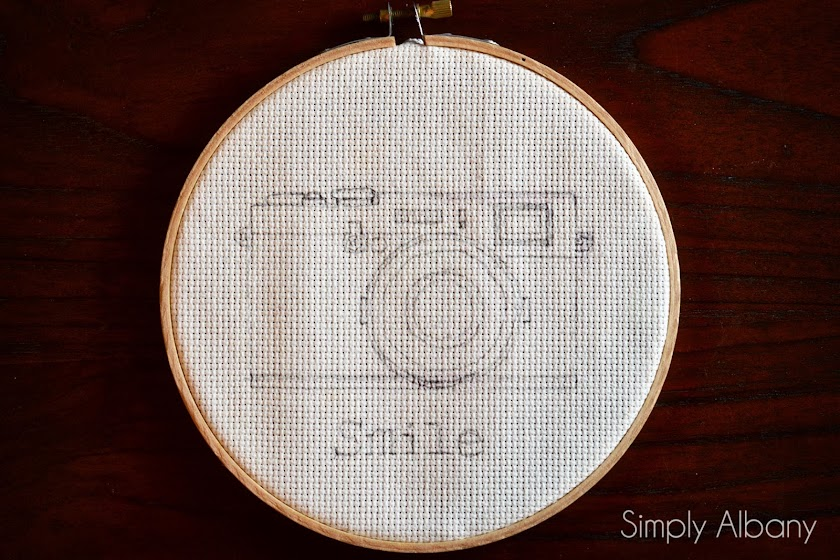 Simply Albany: Embroidery Hoop Art