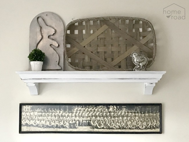 Farmhouse Style Wall Mantel