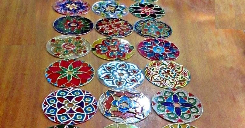 Pintura em tecido como fazer passo a passo riscos e for Cd reciclados decoracion