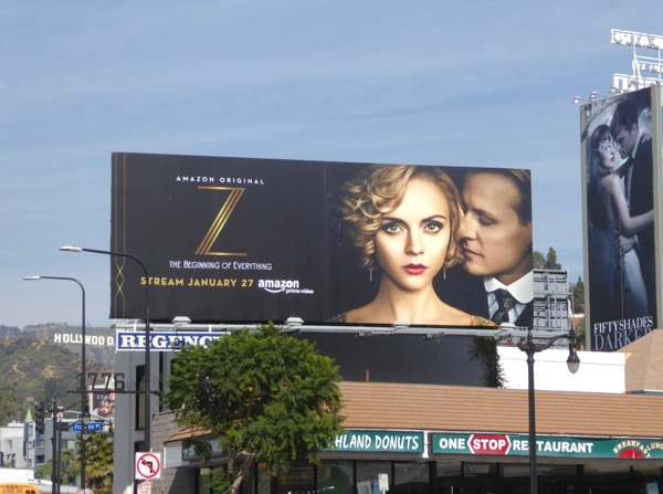 Z Beginning of Everything TV billboard