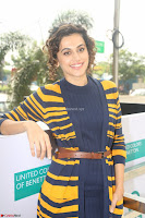 Taapsee Pannu looks super cute at United colors of Benetton standalone store launch at Banjara Hills ~  Exclusive Celebrities Galleries 026.JPG