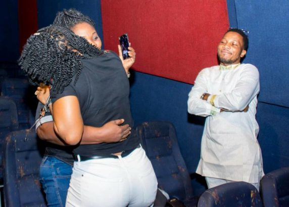 Pastor Proposes To His Girlfriend At The Cinema In Warri ( Photos ) Hgf