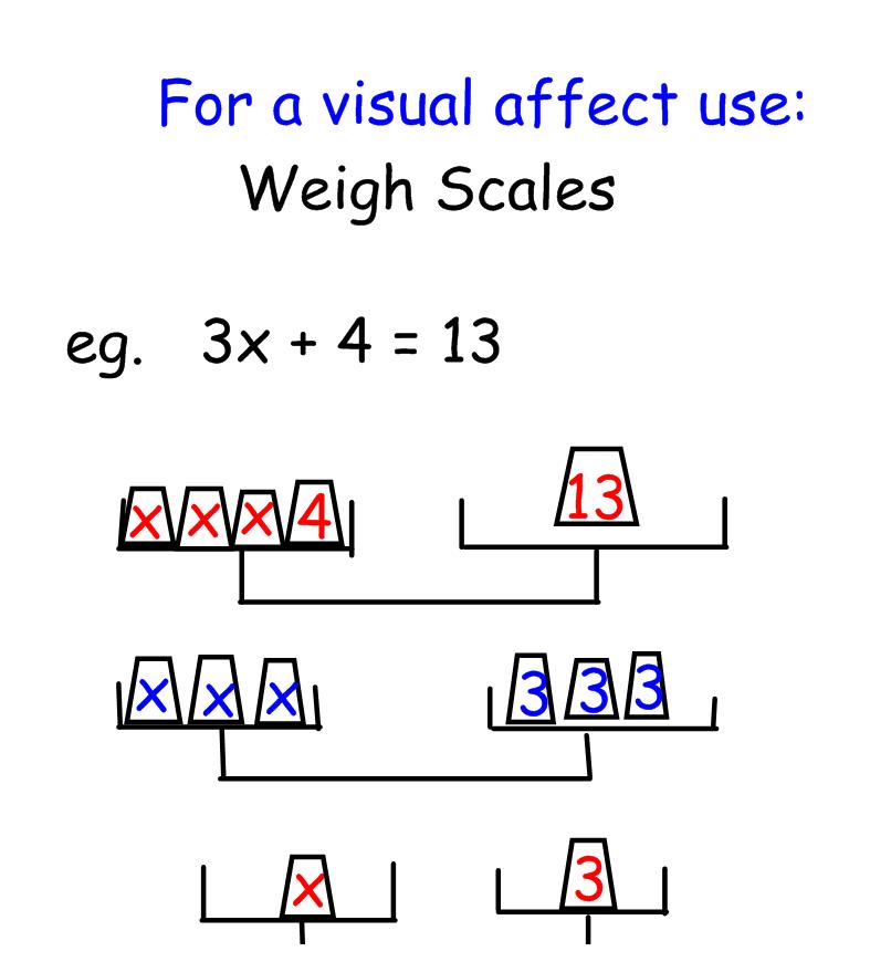 Mrs. Scherger's Math & Social Blog: 6.5 Using Different