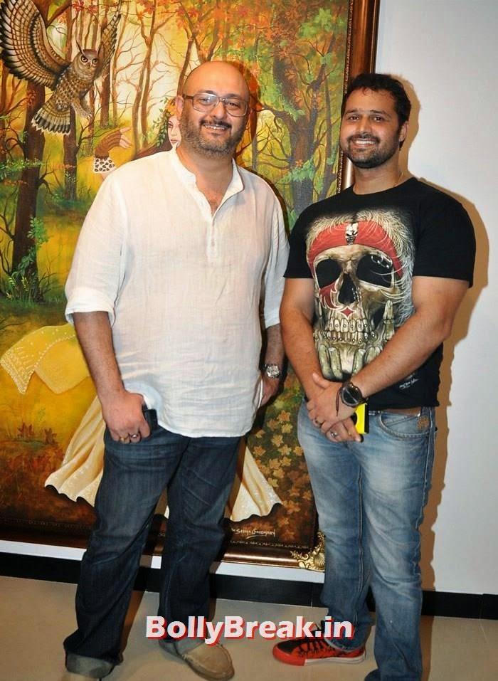 Raju Singh, Mudasir Ali, Tia Bajpai, Richa Sony Pics from Exhibition