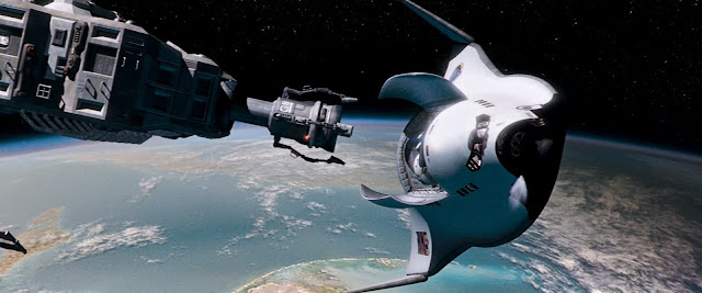 Shuttle from Red Planet movie