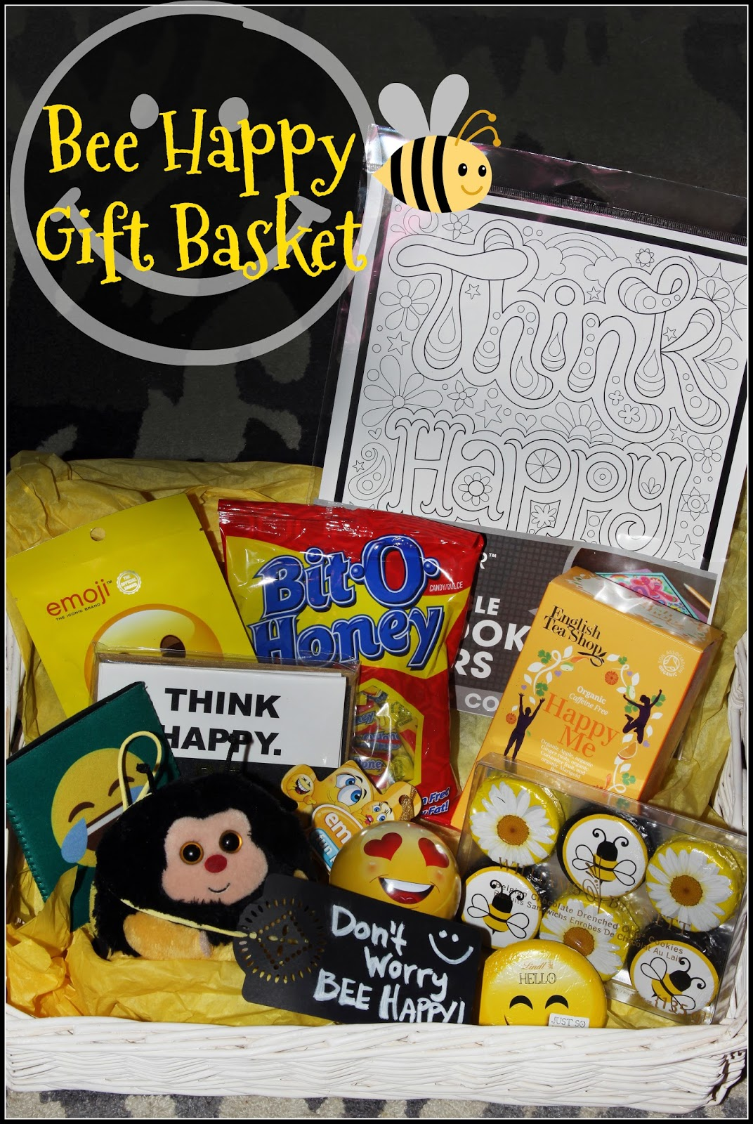 For the Love of Food: Don't Worry Bee Happy Gift Basket