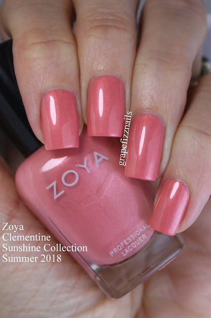 Zoya Sunshine Collection Clementine
