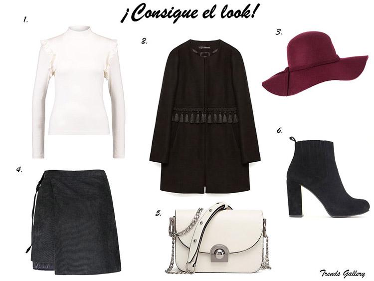 consigue-el-look-get-the-look-falda-asimetrica-fedora-abrigo-borlas-zara