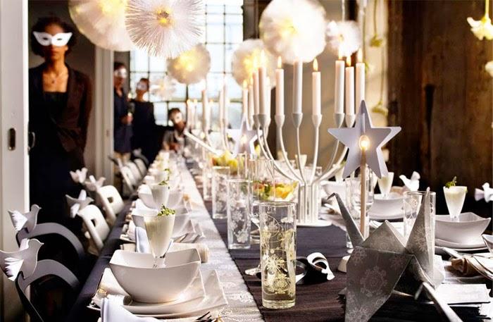 Inspiracion para decorar una mesa en carnaval decoraci n - Mascaras venecianas decoracion ...