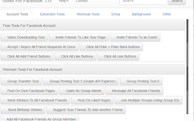 Accept all friend requests Facebook javascript