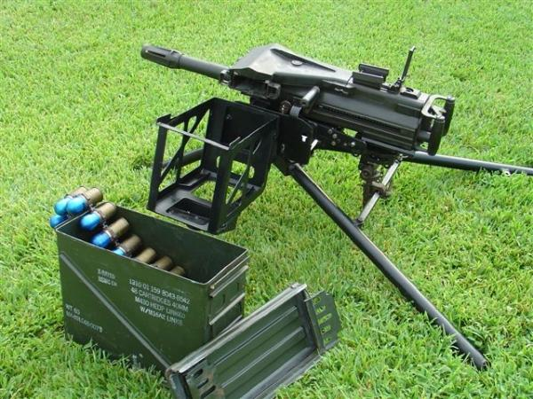 Deadly Mk 19 grenade launcher | Army and Weapons