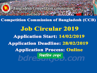 Competition Commission of Bangladesh Job Circular 2019