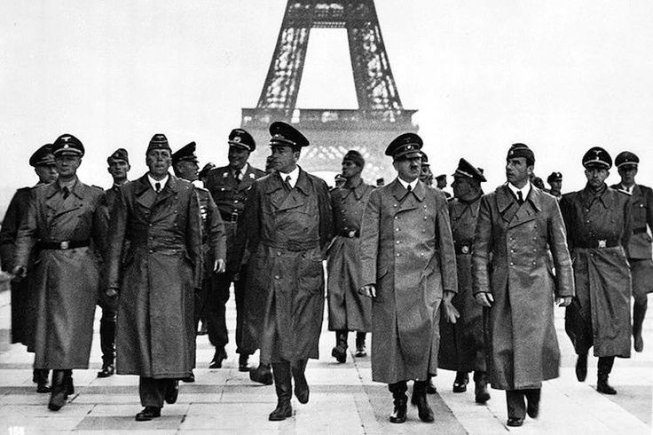 Adolf Hitler had taken Paris