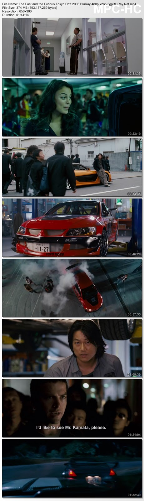 Screenshots Download The.Fast.and.the.Furious.Tokyo.Drift.2006.BluRay.480p.x265.3gpBluRay.Net.mp4