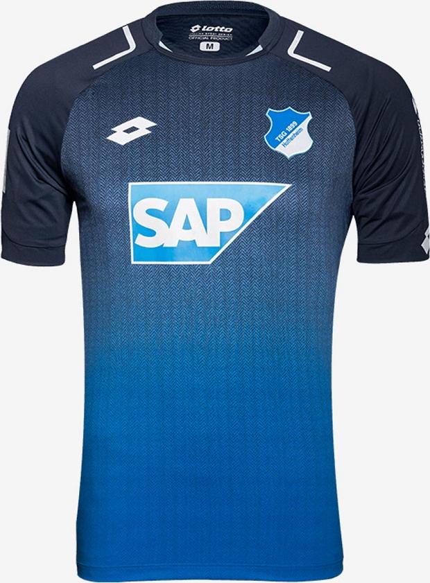 Lotto divulga as novas camisas do Hoffenheim - Show de Camisas 8b7f44bf21b63