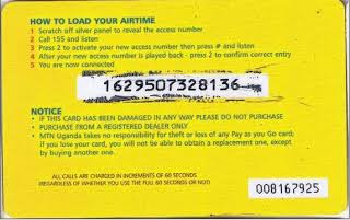 How To Retrieve Over Scratched Recharge Card