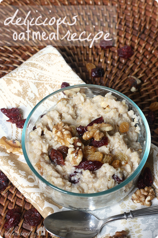 30 Super Sweet Oatmeal Recipes - Something Swanky