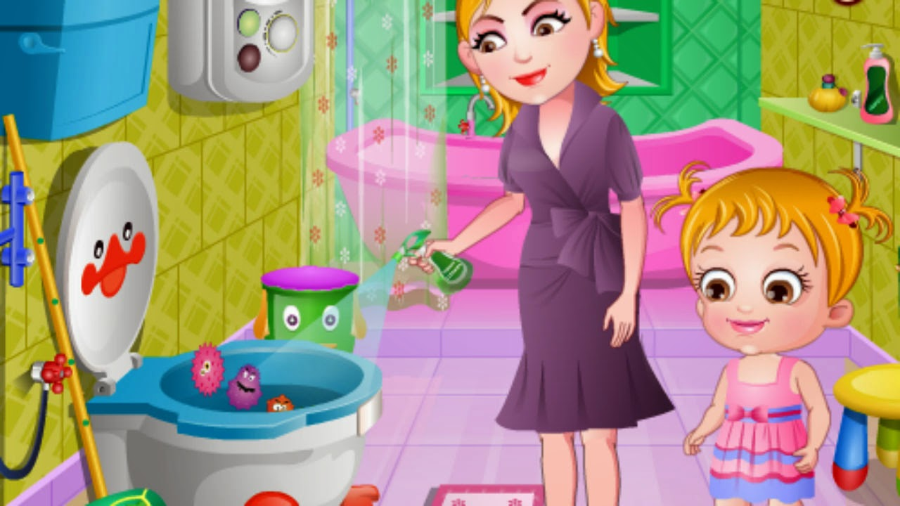 Free Kids Games: Baby Hazel maintains Bathroom Hygiene ...